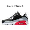 36-45 infrarouge noir