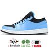B24 Low University Blue Black 36-45