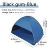 M: Blue-Black gum