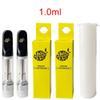 Carrinhos pretos 1.0ml + caixa amarela