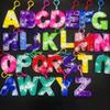 Lettres Keychain-26letters / Set