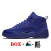 B33 Royal Blue Suede
