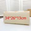 Gold 34 * 26 * 13 cm