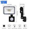 10W PIR 센서 LED 투광 조명