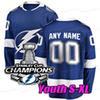 블루 2021 스탠리 컵 챔피언 청소년