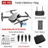 B gris double caméra 4K + 1800 mA batterie