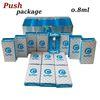 0.8ml White Carts+Push Pack
