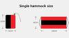 single hammock size