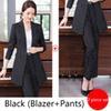 costume de pantalon noir
