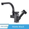 Matte Black Nenhum LED