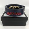 05+Blue Gold buckle With box