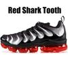 36-47 Red Shark Tooth