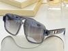 grey frame silver mirror lens