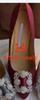 6.5cm 발 뒤꿈치 1 # 레드 와인