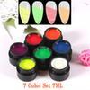 Conjunto de 7 cores