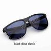 clássico preto / azul
