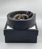 G6 # Boucle perle + ceinture noire