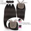Straight bundles with 4*1 closure