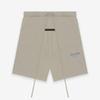 Shorts cinza cáqui