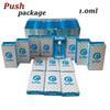 1.0ml White Carts+Push Pack