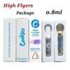 0.8ml White Carts+High Flyers Pack