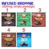 5 Brownie infundido