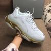 A38 Clear Sole Gold White