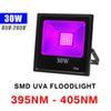 30W UV (395NM-405NM) 85V-265V Floodlight