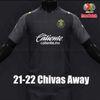 Chivas Away Black 21 22