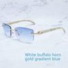 Beyaz altın mavi