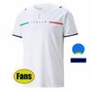 Fans Italia 2122 Away White + Euro-Patchs