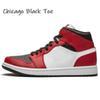 # 18 Orta Chicago Black Toe