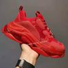 B3 Clear Sole Red 36-45