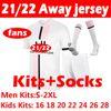 21 22 Away Kits + Socken
