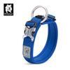 Collier de chien bleu