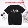 Guillotinebär # schwarz