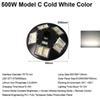 500W Model C Cold White Color