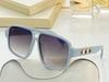 Light blue frame gradient blue lens