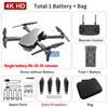 Graue 4k duale Kamera + 1800 mA Batterie + Tasche