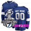 블루 2021 스탠리 컵 챔피언