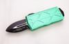 Green handle / black blade