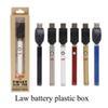 Law twist battery plastic box