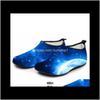 starry sky beach socks