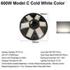 600W Model C Cold White Color