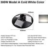 300W Model A Cold White Color
