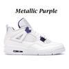 Violet métallique