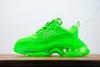 B5 Clear Sole Neon Green 36-45