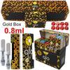 0.8ml com caixa de ouro