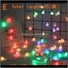 E 100 lights colors