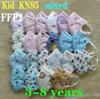 crianças misturadas KN95.
